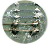 CONTAMINATION AND COLD SOLDER JOINTS